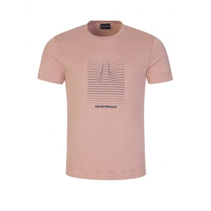Pink Repeat Logo T-Shirt