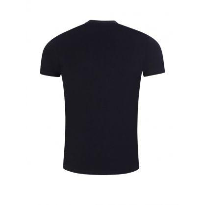 Dark Blue Small Logo T-Shirt