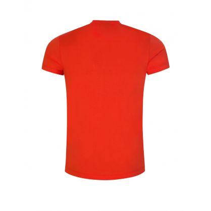 Orange Eagle Logo T-Shirt