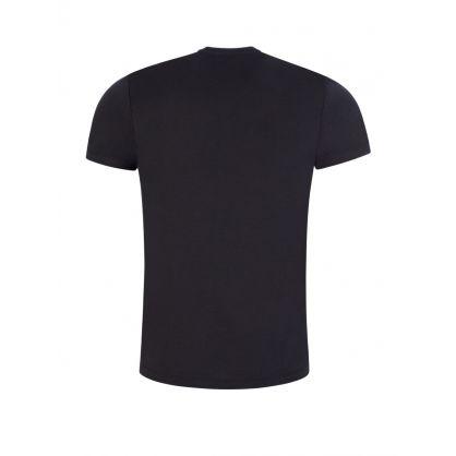 Dark Blue Eagle Logo T-Shirt