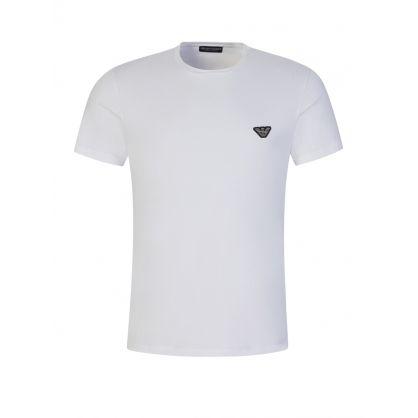 White Stretch Cotton Lounge T-Shirt