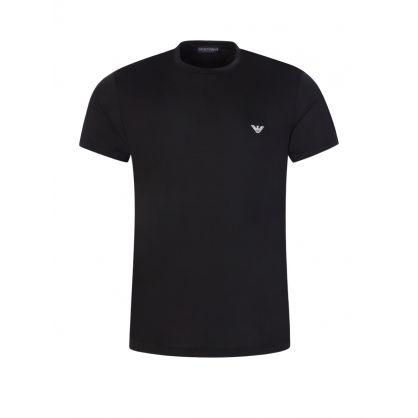 Black Ultra Lightweight Lounge T-Shirt