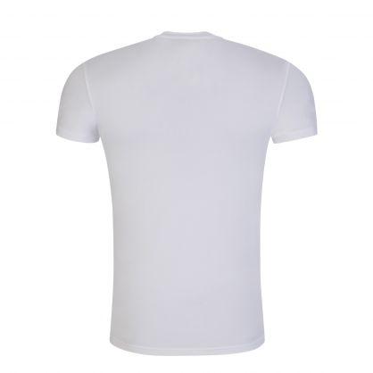 White Megalogo Loungewear T-Shirt