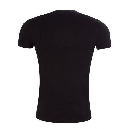 Black Megalogo Loungewear T-Shirt
