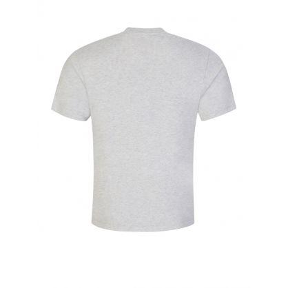 Grey Essential Core Logo T-Shirt