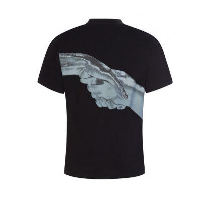 Black Handshake T-Shirt