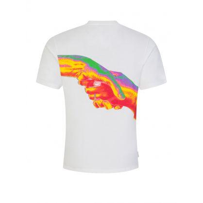 White Handshake T-Shirt