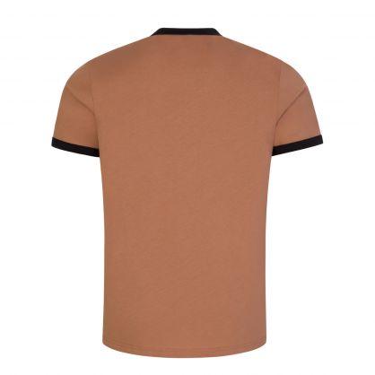 Brown Ringer T-Shirt