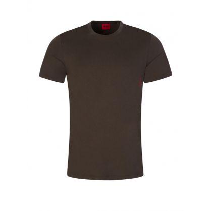 Black/Green Twin Pack T-Shirts