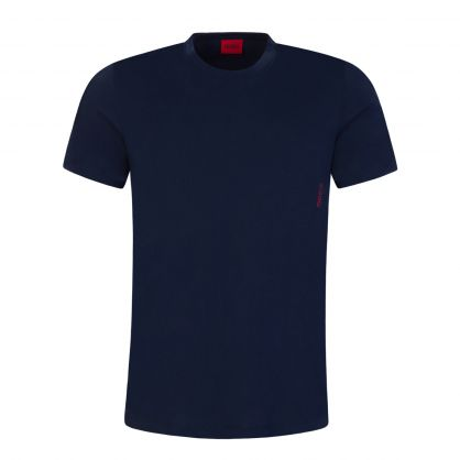 Navy/White Twin Pack T-Shirts