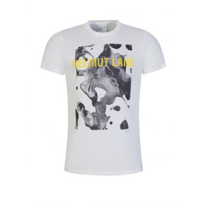 White Splatter Logo T-Shirt