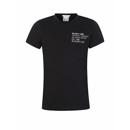 Black Finest Logo T-Shirt