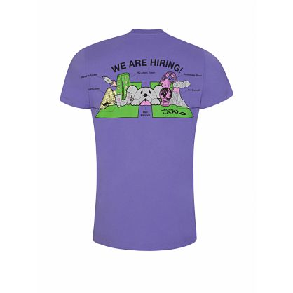Purple Map Standard T-Shirt