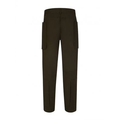 Green Zip Cargo Pants