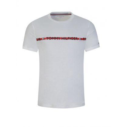 White Repeat Logo T-Shirt
