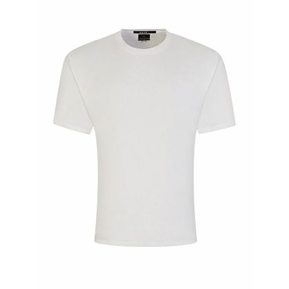 White Overized-Fit Biggie T-Shirt