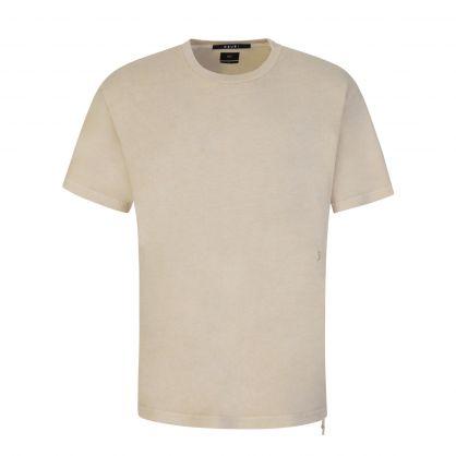 Beige Kross Biggie T-Shirt