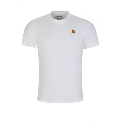 White Tiger Crest Logo T-Shirt