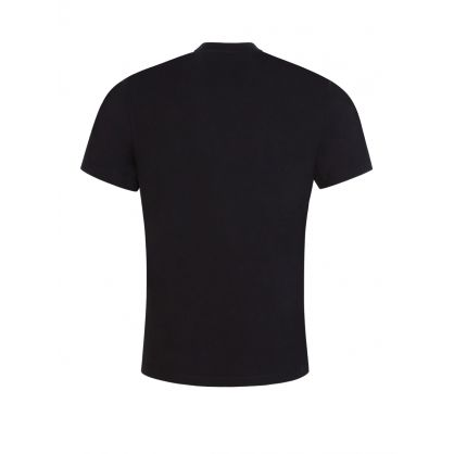 Black Tiger Head Logo T-Shirt