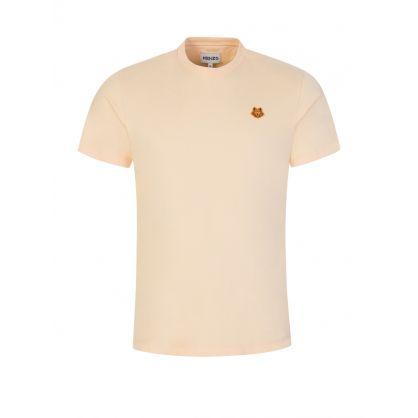 Peach Classic Tiger Crest T-Shirt