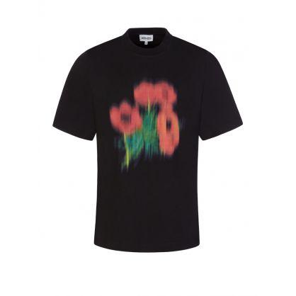 Black 'Poppy' T-Shirt
