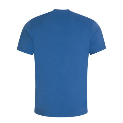 Blue Classic Tiger Print T-Shirt