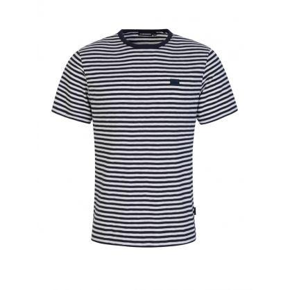 Navy Charles Stripe T-Shirt