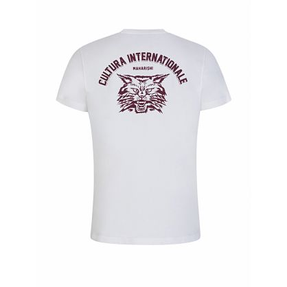 White Cultura Internationale Logo T-Shirt