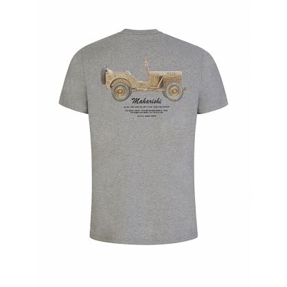 Grey Jeep Print T-Shirt