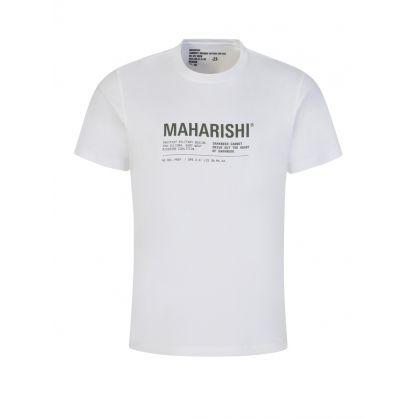 White MILTYPE21 T-Shirt