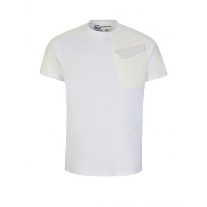 White/Cream Riverine 2.0 Tech T-Shirt