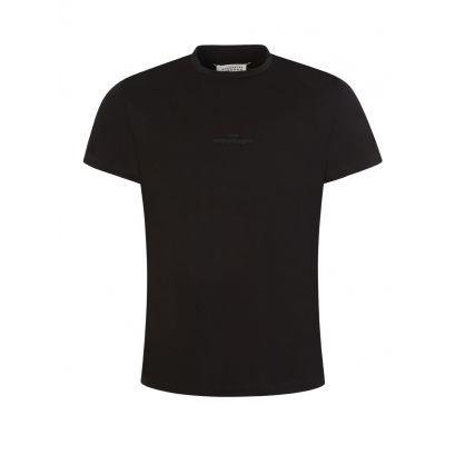Black Reversed-Logo Mako T-Shirt