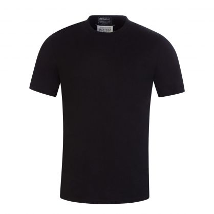 Black/Indigo/Burgundy Vacuum-Packed T-Shirts 3-Pack