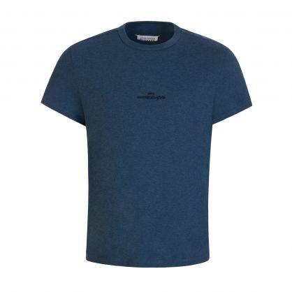 Blue Jersey Cotton T-Shirt