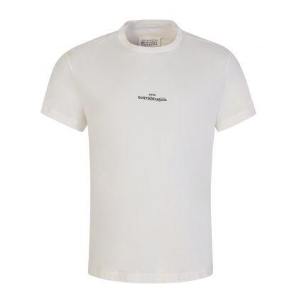 Off White Upside-Down Logo T-Shirt