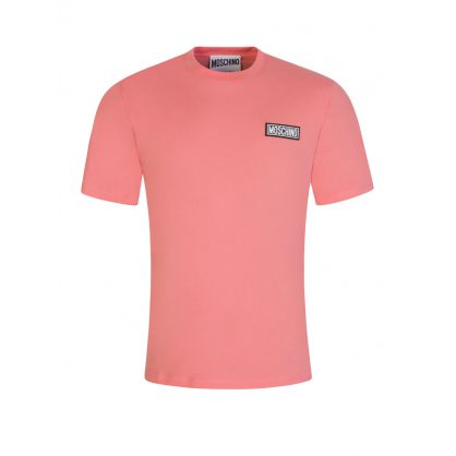 Pink Couture Rubber Logo T-Shirt