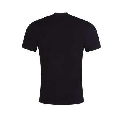 Black Print Logo T-Shirt