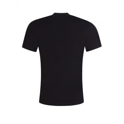 Black Couture Print Logo T-Shirt