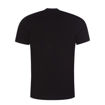 Black Diamante Logo T-Shirt