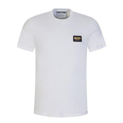 White Metal Logo T-Shirt