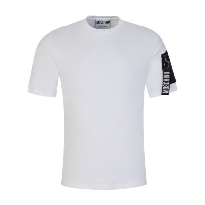 White Sleeve Pocket T-Shirt
