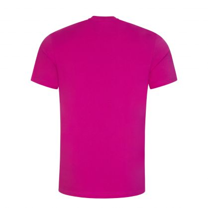 Pink Double Question Mark Logo T-Shirt
