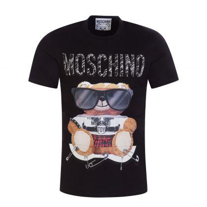 Couture Black Sunglasses Teddy Bear T-Shirt