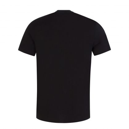 Black Gold-Plated Logo T-Shirt
