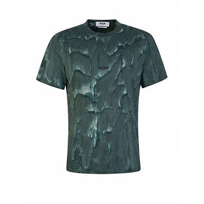 Green Tie-Dye Logo T-Shirt