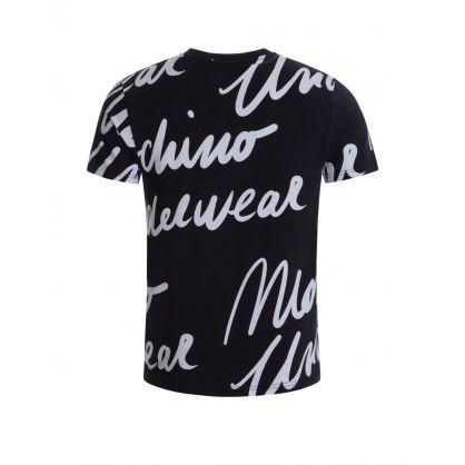 Underwear Black Logos T-Shirt