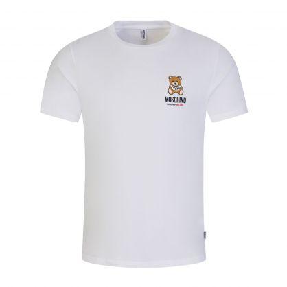 White Underwear UnderBear T-Shirt