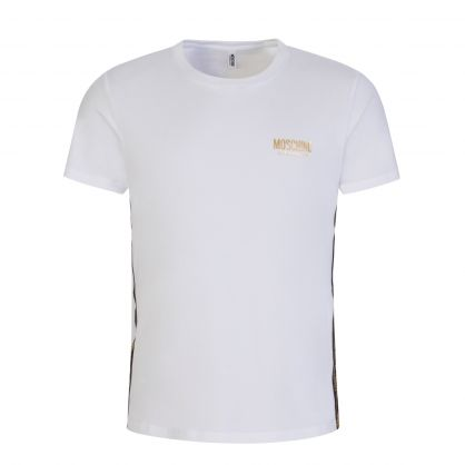 White Underwear Teddy Tape T-Shirt
