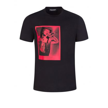 Black Rockstar God No 57 T-Shirt