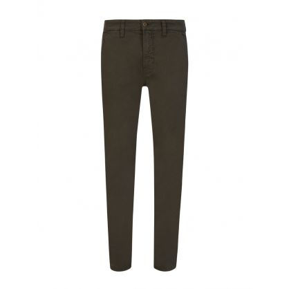 Green Slim Adam Chinos
